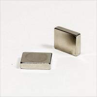 16x12,7x3,8mm - N40 NdFeB Quader Magnet - NiCuNi