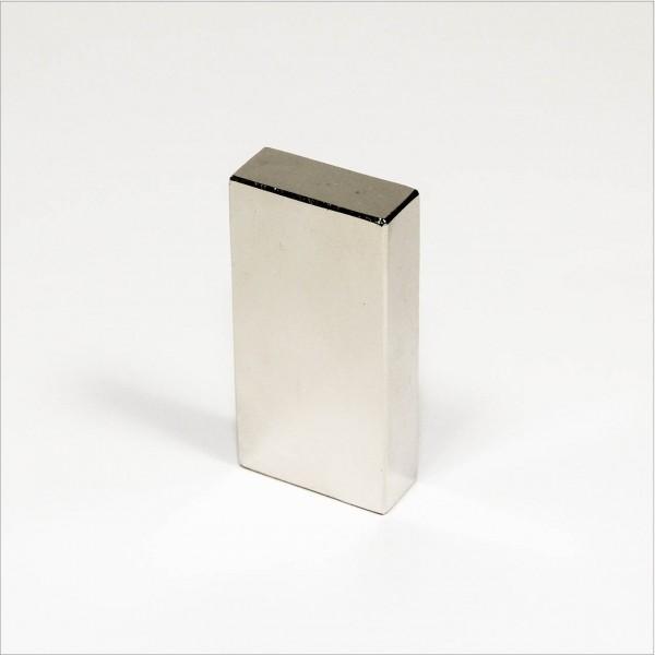 50x25x10mm - N52 NdFeB Quader Magnet - NiCuNi