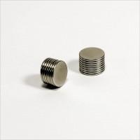 D12x1mm - N45 NdFeB Scheiben Magnet - NiCuNi