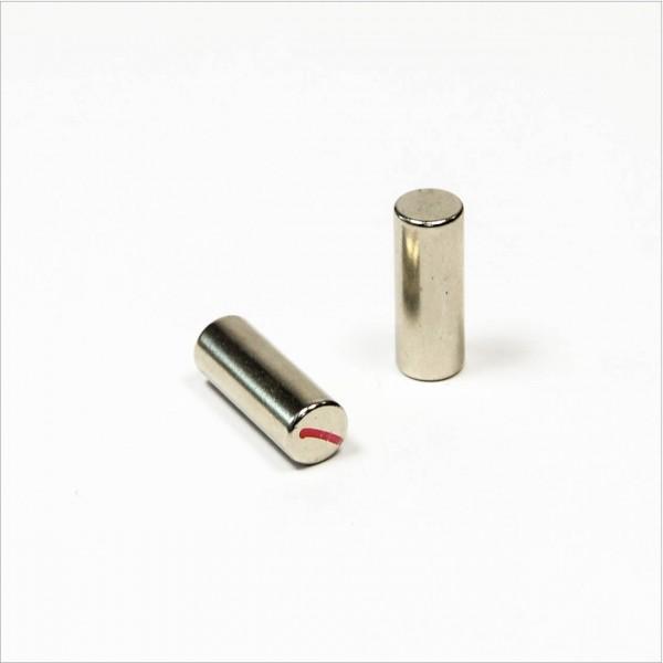 D7,5x20mm - N52 Neodym Stab Magnet - NiCuNi