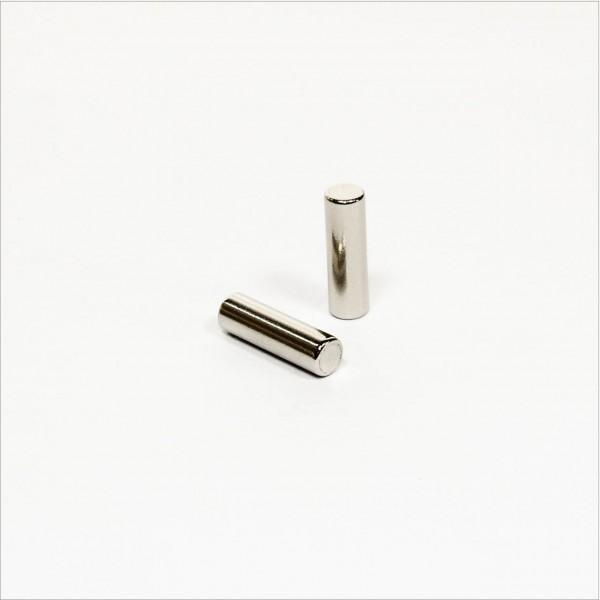 D6x20mm - N42 NdFeB Stab Magnet - NiCuNi