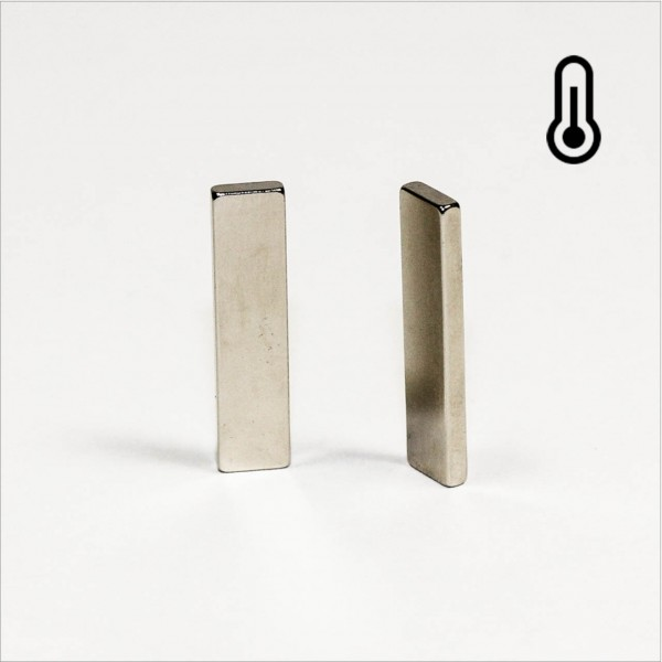 6x2x25mm - 42SH NdFeB Quader Magnet - NiCuNi
