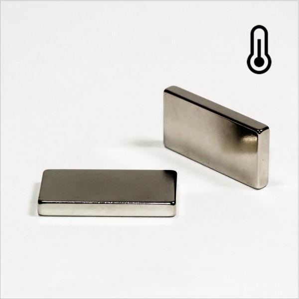 40x20x5mm - 45H NdFeB Quader Magnet - NiCuNi