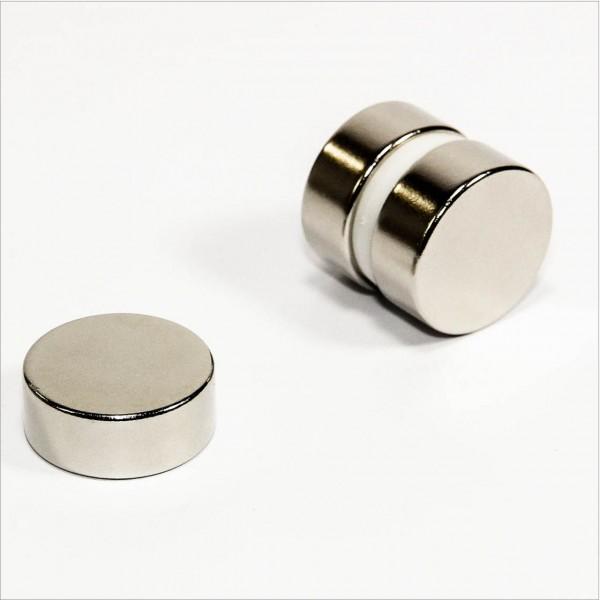 D25x10mm - N42 NdFeB Scheiben Magnet - NiCuNi