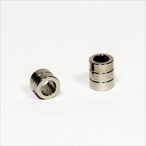 D10-d6,5x4mm - N45 NdFeB Ring Magnet - NiCuNi