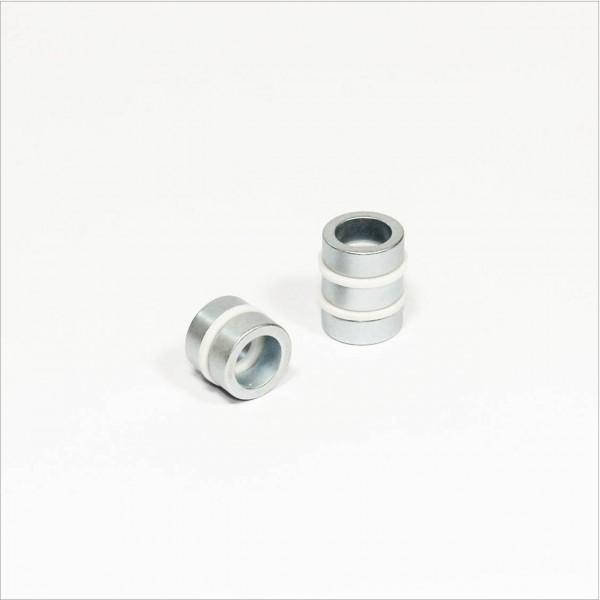 D16-d11x6mm - N48 NdFeB Ring Magnet - Zink