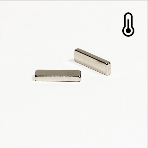 15x4,5x2mm - 45SH NdFeB Quader Magnet - NiCuNi