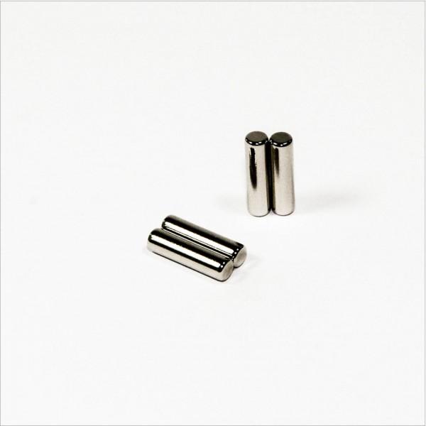 D4x15mm - N42 NdFeB Stab Magnet diametral - NiCuNi
