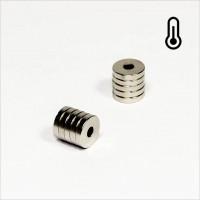 D10-d3,2x2mm - 40SH NdFeB Ring Magnet - NiCuNi
