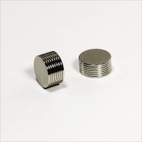 D15x1mm - N45 NdFeB Scheiben Magnet - NiCuNi