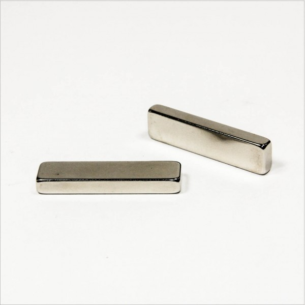 40x10x5mm - N42 NdFeB Quader Magnet - NiCuNi