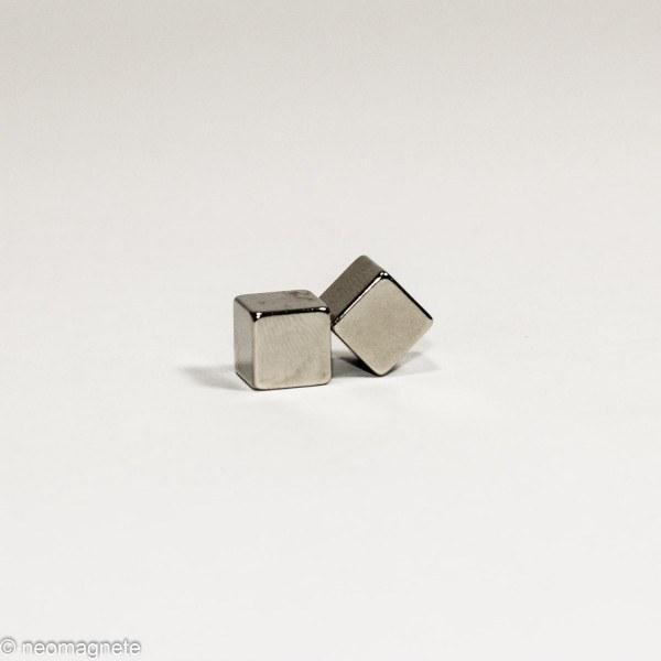 10x10x10mm - N42 NdFeB Würfel Magnet - NiCuNi