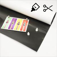 620x0,5mm - Ferrofolie selbstklebend