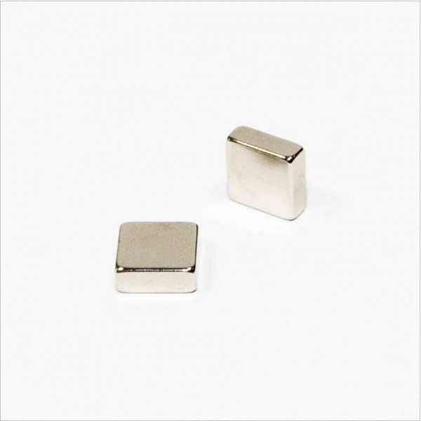 8x8x3mm - N45 NdFeB Quader Magnet - NiCuNi